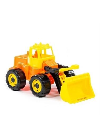 Polesie Polesie 22370 Herkül Oyuncak Traktör Yükleyici Turuncu Renkli